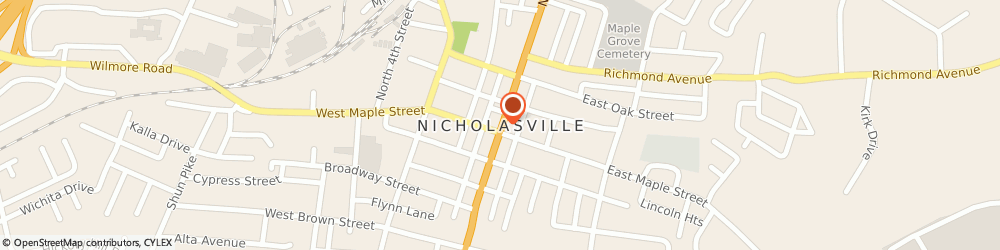 Route/map/directions to Hamms Locksmith Service, 40356 Nicholasville, 899 Sulphur Well Pike