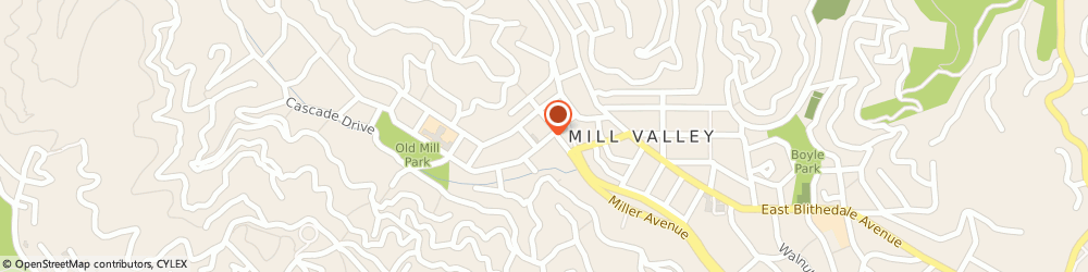 Route/map/directions to Citibank, 94941 Mill Valley, 130 Throckmorton Ave