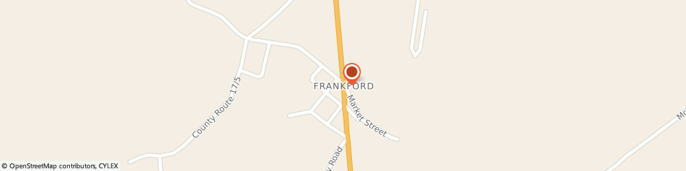 Route/map/directions to Country Thrift, 24938 Frankford, Po Box 134