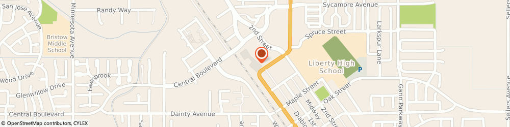 Route/map/directions to Outbreak RV and Marine Engineering, 94513 Brentwood, 1145 2nd Street, #A339