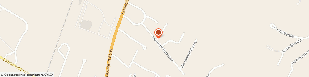 Route/map/directions to U-Haul Co, 40356 Nicholasville, 216 INDUSTRY PKWY STE 5