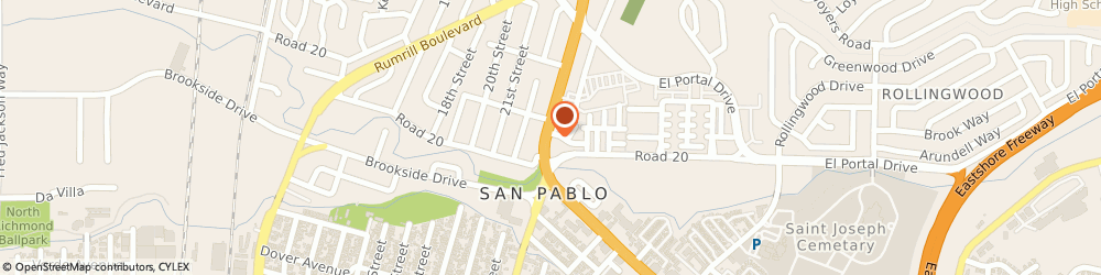 Route/map/directions to Wells Fargo SAN PABLO, 94806 San Pablo, 14272 San Pablo Ave