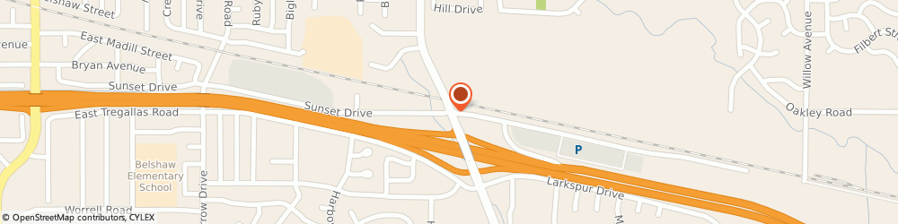 Route/map/directions to URS - AECOM Antioch, 94509 Antioch, 1780 Sunset Drive