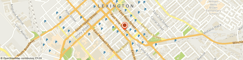 Route/map/directions to Anavii Market, 40507 Lexington, 215 E High St