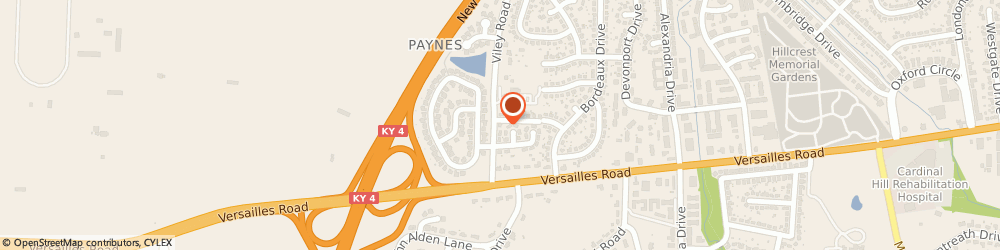 Route/map/directions to Able Cleaning Service, 40504 Lexington, 1400 VILEY ROAD