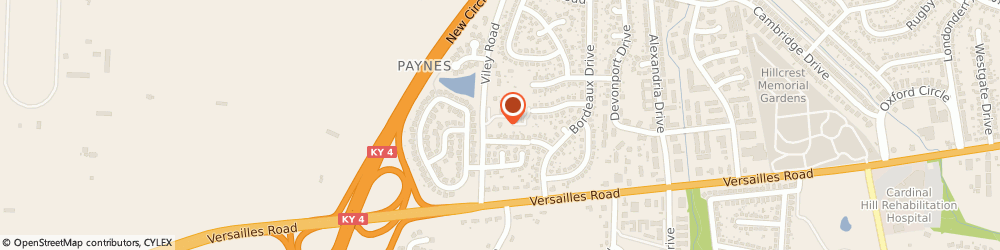 Route/map/directions to Hehman Lawrence W Reverend, 40504 Lexington, 1332 VILEY ROAD