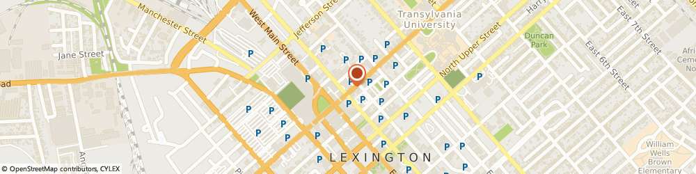 Route/map/directions to Garmer & Prather, PLLC, 40507 Lexington, 141 N. Broadway