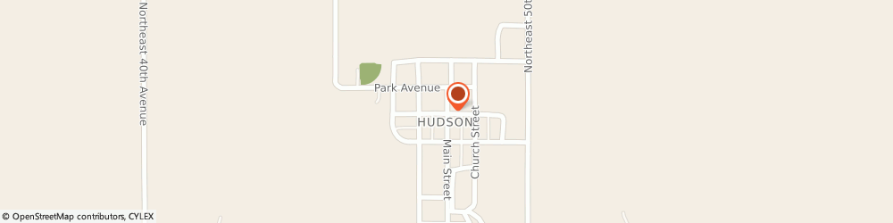 Route/map/directions to Wheatland Cafe & Catering, 67545 Hudson, 112 Main Street