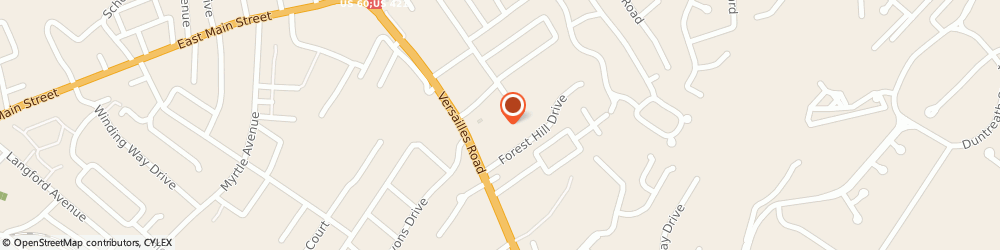 Route/map/directions to Cosmo Prof Frankfort, 40601 Frankfort, 105 Eastwood Shopping Ctr