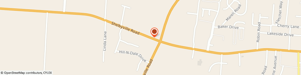 Route/map/directions to Firestone Retailer, 40065 Shelbyville, 2251 Shelbyville Rd.
