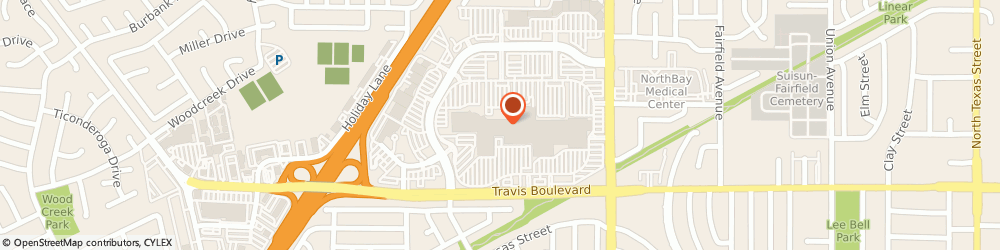 Route/map/directions to Forever 21, 94533 Fairfield, 1350 Travis Boulevard