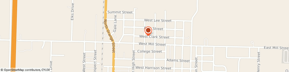 Route/map/directions to Church Of The Nazarene - Parsonage, 64730 Butler, 805 NORTH MAPLE STREET