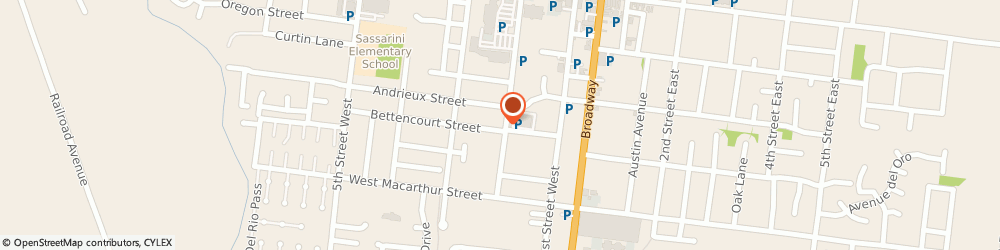 Route/map/directions to LENDoesMyHair Salon + Spa, 95476 Sonoma, 181 Andrieux Street