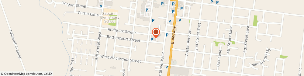 Route/map/directions to North Bay Eye Associates, 95476 Sonoma, 181 Andrieux Street