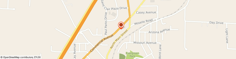 Route/map/directions to Navy Federal Credit Union, 63077 Saint Clair, 815 North Comercial