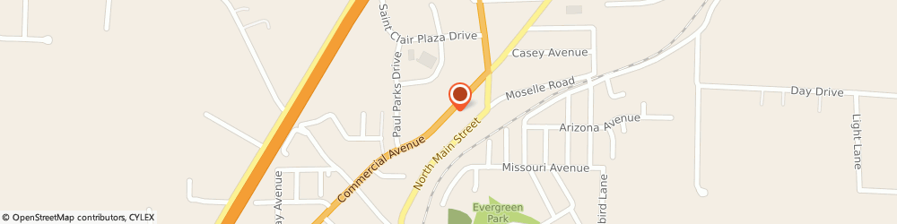 Route/map/directions to CITIBANK ATM, 63077 Saint Clair, 815 N. Comercial
