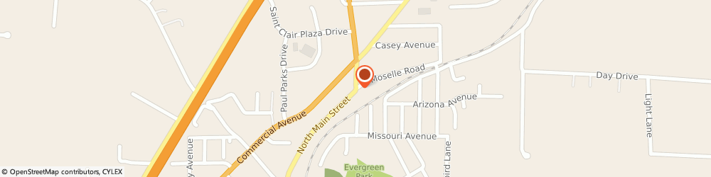 Route/map/directions to Navy Federal Credit Union, 63077 Saint Clair, 900 North Main Street