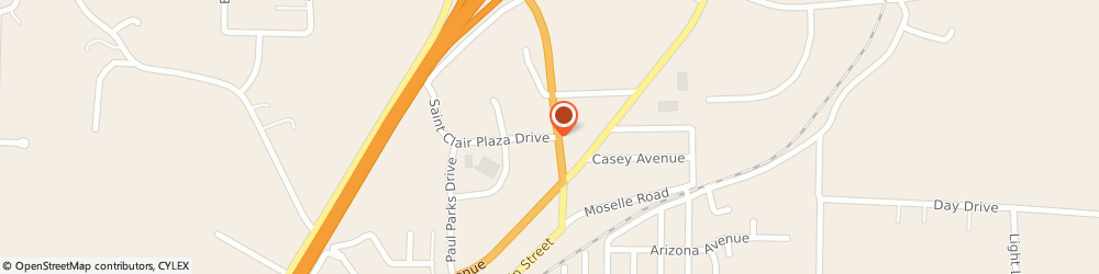 Route/map/directions to Citibank ATM, 63077 Saint Clair, 905 Plaza Drive