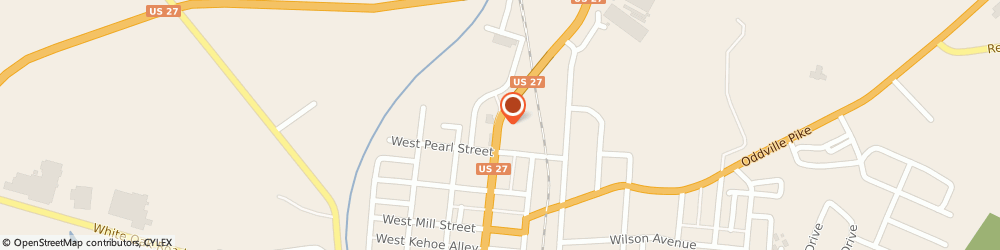 Route/map/directions to Curves For Women, 41031 Cynthiana, 1050 US HIGHWAY 27 S, SUITE 2