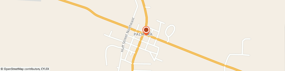 Route/map/directions to Palmyra United Methodist Church, 47164 Palmyra, 14170 GREENE STREET NORTHEAST