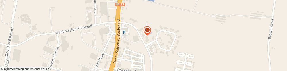 Route/map/directions to Allstate Insurance Agent: Shannon Keller, 21804 Salisbury, 501 E Naylor Mill Rd