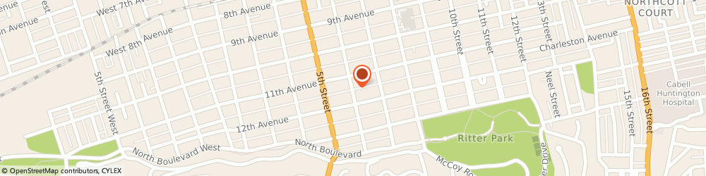 Route/map/directions to Safeco Insurance Agent, 25701-3206 Huntington, 1126 6Th St
