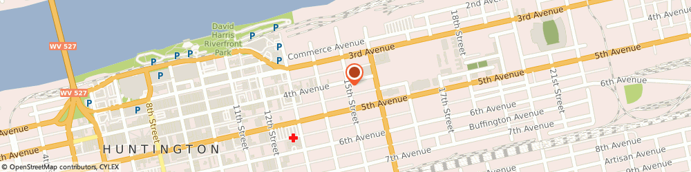 Route/map/directions to CPR Cell Phone Repair Huntington, 25701 Huntington, 1455 4th Ave