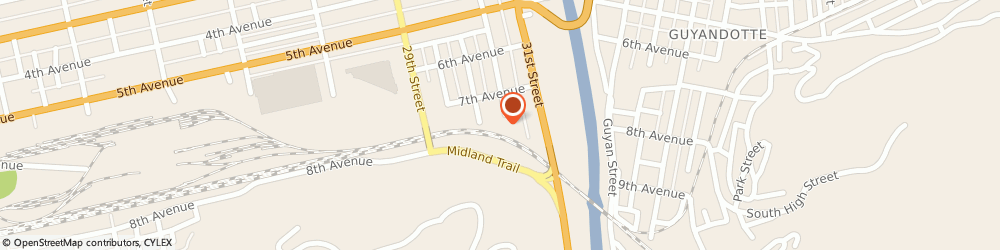Route/map/directions to Commercial Refrigeration Service, 25702 Huntington, 801 30TH STREET