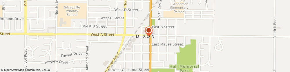 Route/map/directions to Atm Great Western Bank, 95620 Dixon, 195 N 1St Dv 1St N.Bk
