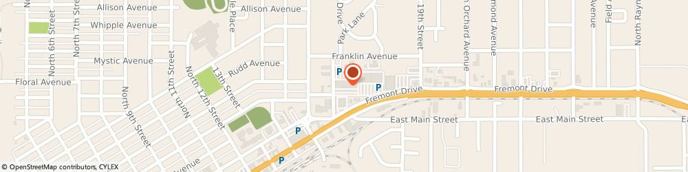 Route/map/directions to H&R Block, 81212 Canon City, 304-A 16th St