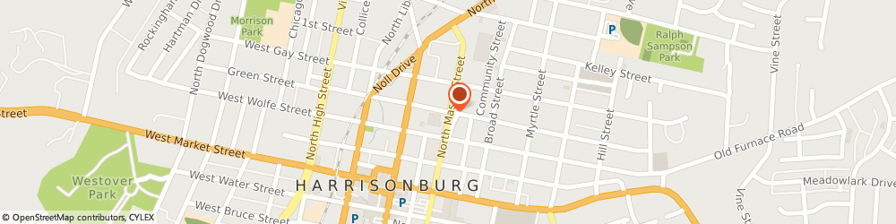 Route/map/directions to Ana's Fashion, 22802 Harrisonburg, 434 N Mason St