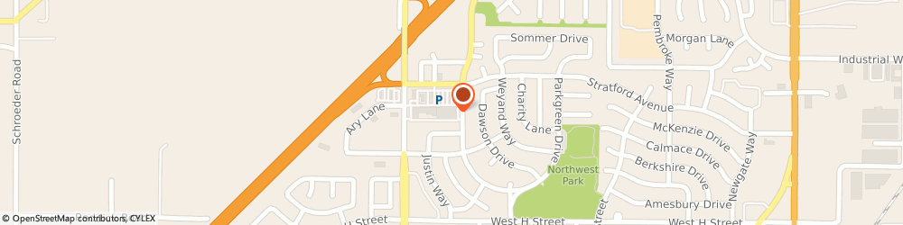 Route/map/directions to Wells Fargo Bank, 95620 Dixon, 1235 Stratford Ave