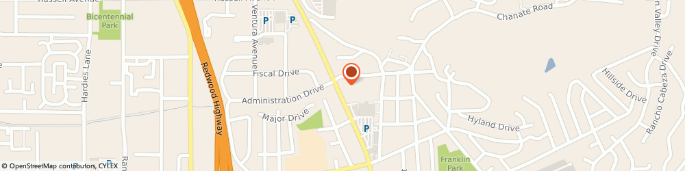 Route/map/directions to Navy Federal Credit Union ATM, 95403 Santa Rosa, 2460 Mendocino Ave