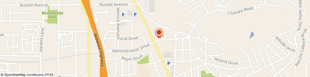Route/map/directions to Navy Federal Credit Union ATM, 95403 Santa Rosa, 2500 Mendocino Ave Ste C