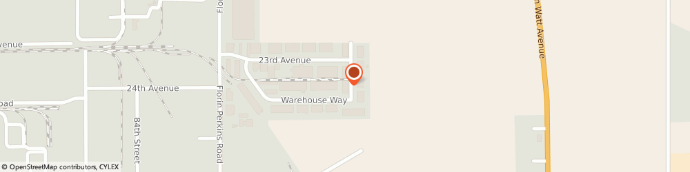 Route/map/directions to Nor-Cal Roofing Inc, 95826 Sacramento, 6111 Warehouse Way