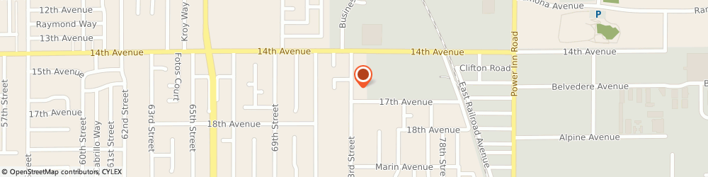 Route/map/directions to Gutters Of Sacramento, 95820 Sacramento, 4107 73Rd Street