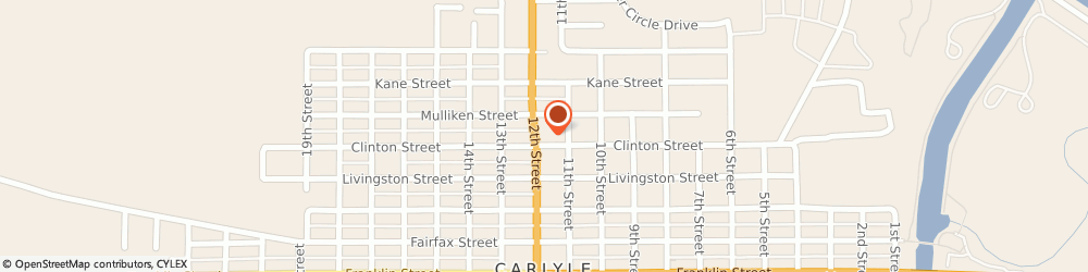 Route/map/directions to Dairy Queen Grill & Chill, 62231-1200 Carlyle, 910 12th St