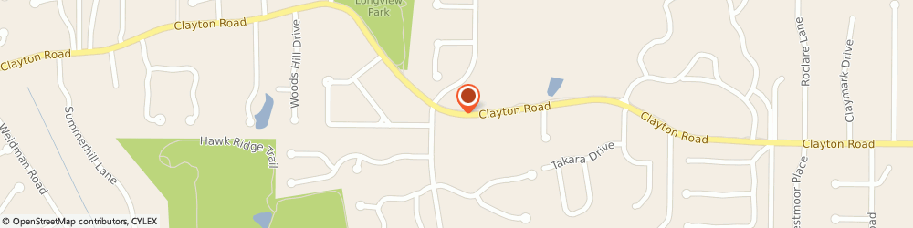 Route/map/directions to Starbucks Coffee Mason Woods, 63131 Des Peres, 13448 Clayton Road