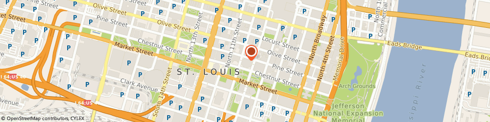 Route/map/directions to Bank Of America St Louis, 63101 Saint Louis, ONE BELL CENTER