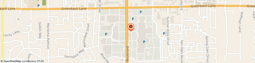 Route/map/directions to Miracle-Ear Hearing Aid Center, 95610 Citrus Heights, 5900 SUNRISE MALL
