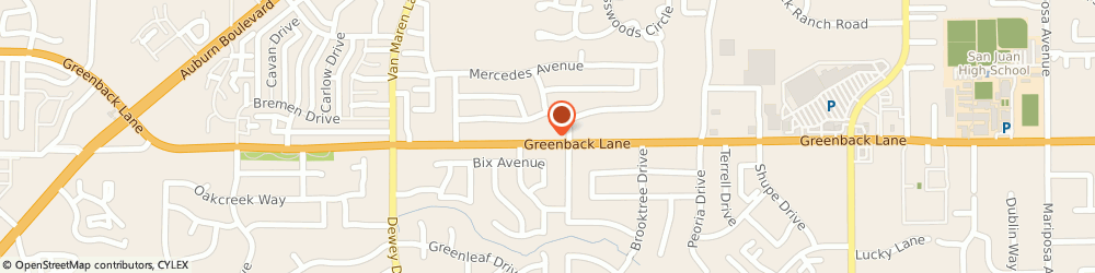 Route/map/directions to Valero CITRUS HEIGHTS, 95621 Citrus Heights, 6825 Greenback Ln