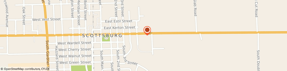 Route/map/directions to Firestone Retailer, 47170 Scottsburg, 551 E. Mcclain Ave