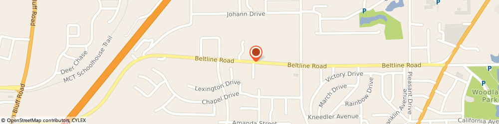 Route/map/directions to Bp Station, 62234 Collinsville, 1000 BELT LINE RD
