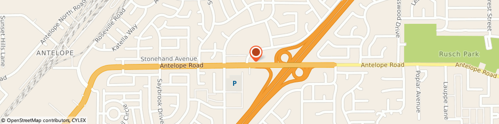 Route/map/directions to Antelope 76 Market, 95621 Citrus Heights, 7800 LICHEN DR