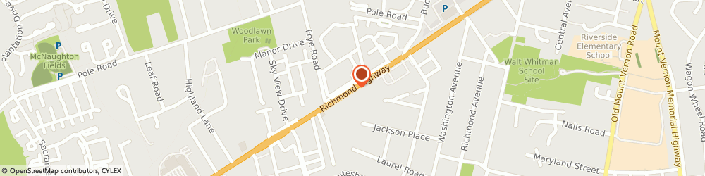 Route/map/directions to Woodlawn Garden Apartments, 22309 Alexandria, 8488 RICHMOND HWY STE 101