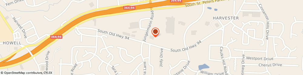 Route/map/directions to ALDI, 63304 Saint Peters, 1665 Jungermann Rd