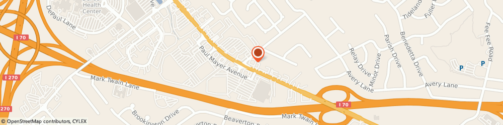 Route/map/directions to Navy Federal Credit Union ATM, 63044 Bridgeton, 11915 St. Charles Rock Rd