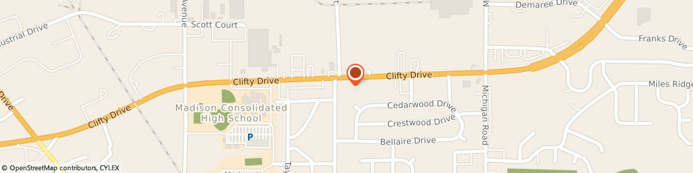 Route/map/directions to Advance Auto Parts, 47250 Madison, 431 Cilfty Drive