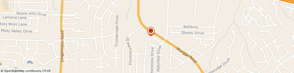Route/map/directions to Great Clips, 63303 St Charles, 2651 Muegge Rd