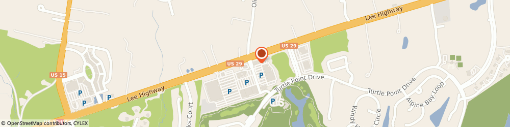 Route/map/directions to Dunkin', 20155 Gainesville, 7901 Stonewall Shops Sq